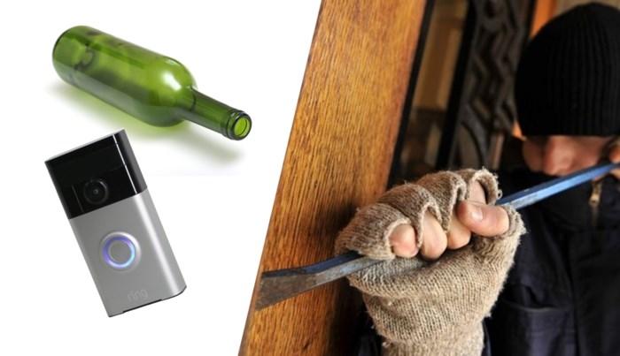 Van een lege fles tot een slimme deurbel: zo ben je inbrekers tijdens je vakantie te slim af