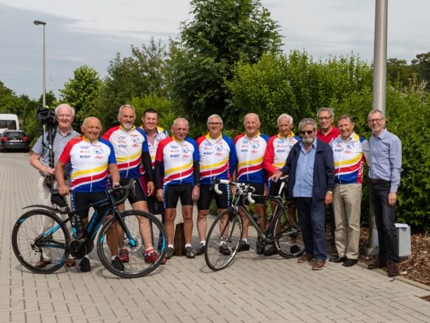 Wielerclub De Jokers fietst voor Ter Heide