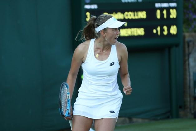 Elise Mertens zonder problemen naar tweede ronde van Wimbledon