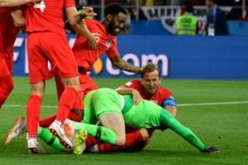 Engeland na penalty's voorbij Colombia naar kwartfinales