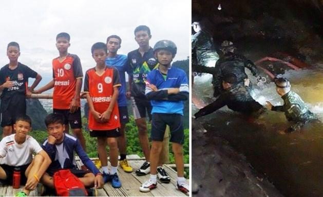 Vermiste jonge voetballers en hun coach na negen dagen levend teruggevonden in grot