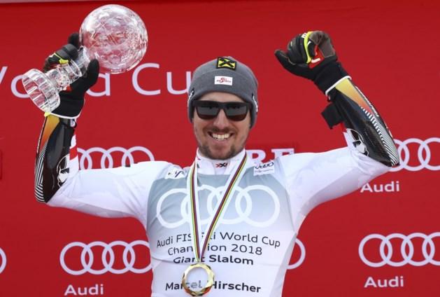 Marcel Hirscher zet skicarrière verder