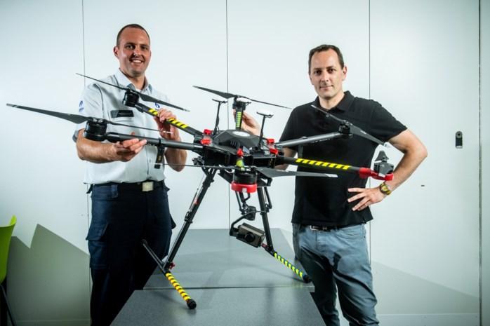 Eerste drone-pv is een feit: boete tot 1.000 euro en tot een jaar cel