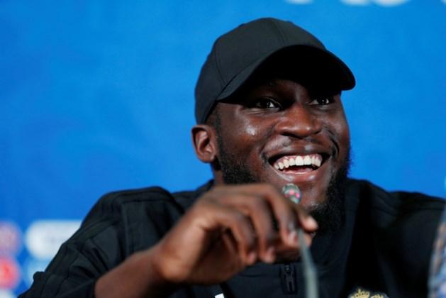 """Romelu Lukaku kijkt met vertrouwen uit naar kwartfinale: """"Brazilië is defensief misschien te pakken"""""""