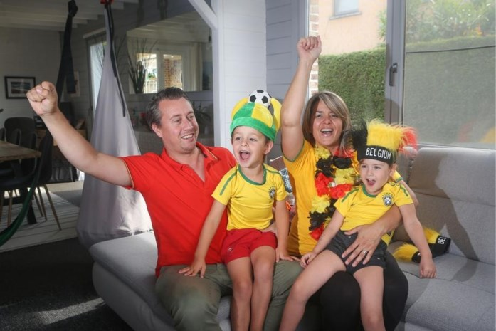 """Voetbalthriller Brazilië-België brengt extra spanning in huiskamers van gemengde koppels: """"Ons huwelijk zal het wel overleven"""""""