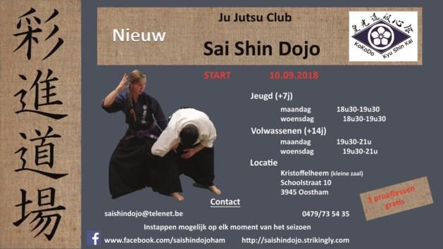 Jujutsuclub Sai Shin dojo opent deuren