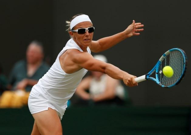 Geen drie op drie: Kirsten Flipkens verliest in tweede ronde Wimbledon van nummer twaalf van de wereld