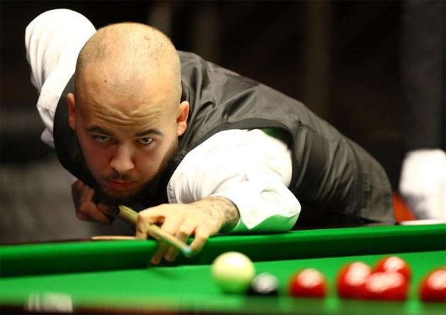 Luca Brecel plaatst zich voor hoofdtabel World Open snooker