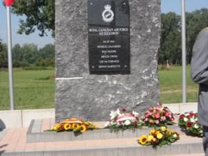 Herdenking bemanning van gecrashte Canadese bommenwerper