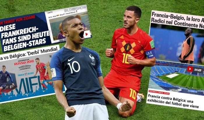 """Buitenlandse media lyrisch over onze Rode Duivels: """"België is het lichtend voorbeeld"""""""