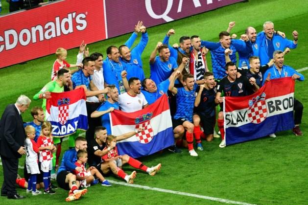 Kroatië is het dertiende land dat een WK-finale haalt