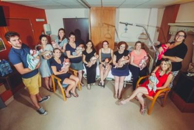 """Ongelofelijke babyboom in Jessa Ziekenhuis: """"Aan de lopende band baby's geboren"""""""