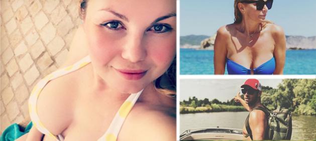 """Gluren bij BV's: Lesley-Ann Poppe poseert in bikini """"met blubberbuikje en al"""""""