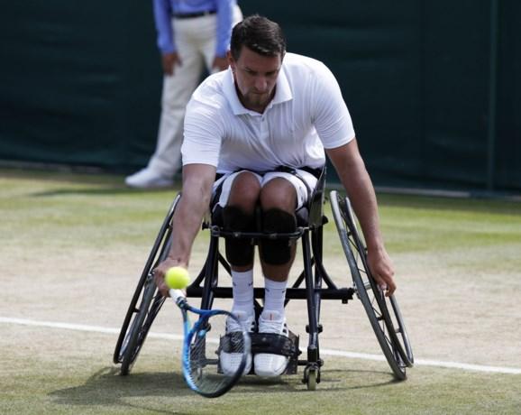 Dan toch een Belg in finale op Wimbledon: Joachim Gérard naar finale dubbelspel in het rolstoeltennis