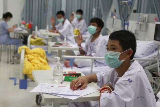 Thaise voetballertjes mogen donderdag ziekenhuis verlaten