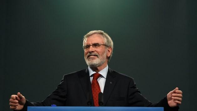 Explosief gegooid naar huis van gewezen Sinn Féin-leider Gerry Adams