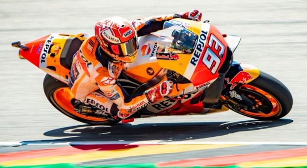 Marquez pakt opnieuw de pole in MotoGP van Duitsland, Siméon start vanaf de laatste rij