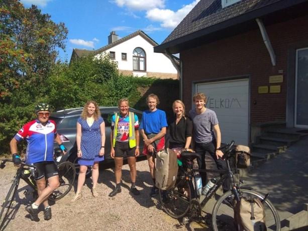 Bart Duvivier is terug thuis van zijn wereldreis met fiets