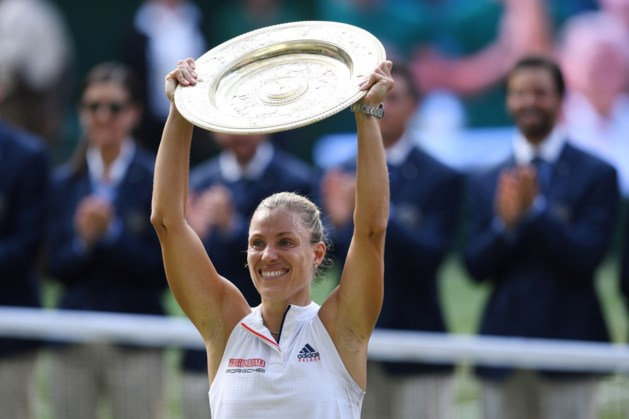 Geen achtste Wimbledon-zege voor Serena Williams: Kerber zegeviert na amper een uur en twee sets