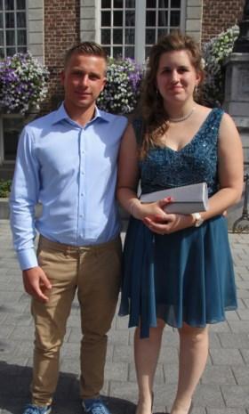 Pauline en Kevin in Hasselt