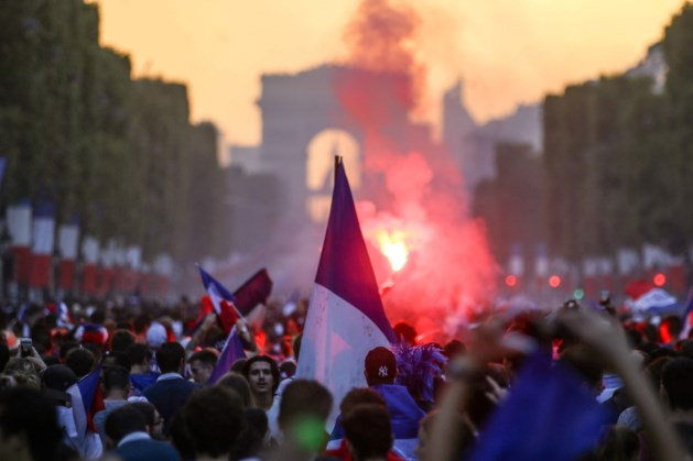 Tientallen vrouwen in Frankrijk aangerand tijdens viering van WK-winst