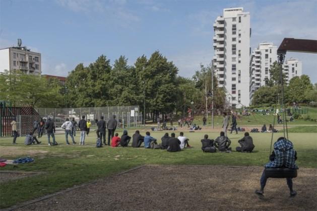 Brussel wil geen migranten meer in Maximiliaanpark