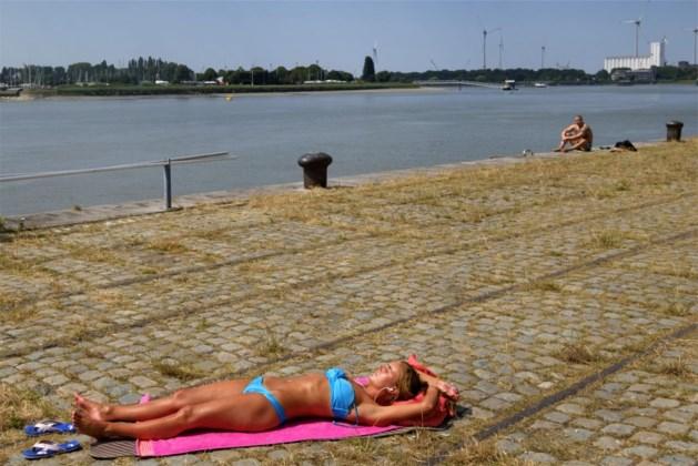 Het blijft volop zomeren: temperaturen tot 29 graden