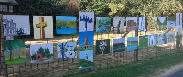 't Zolderke exposeert in het park