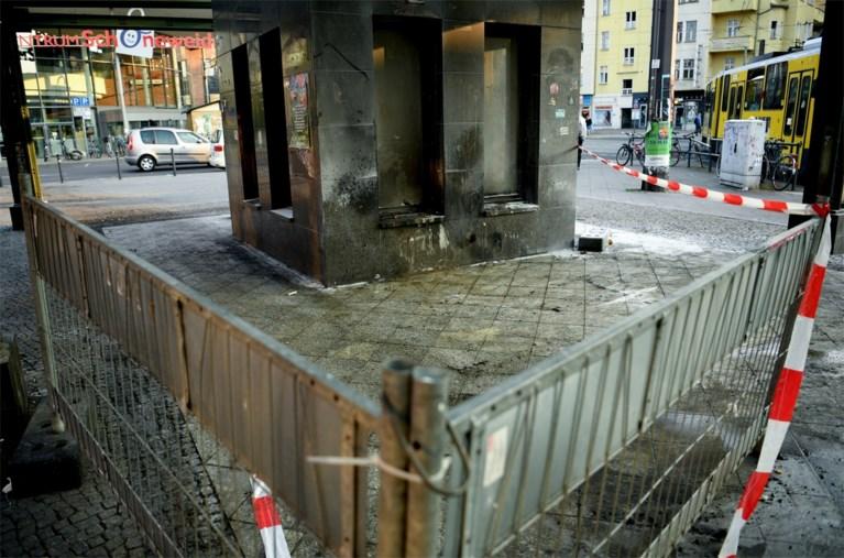 Twee Berlijnse daklozen met brandstof overgoten en in brand gestoken
