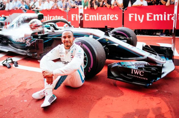 Lewis Hamilton tijdens GP van Duitsland verkozen tot 'Driver of The Day'