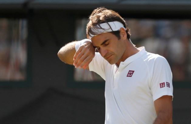 Roger Federer laat Canada schieten