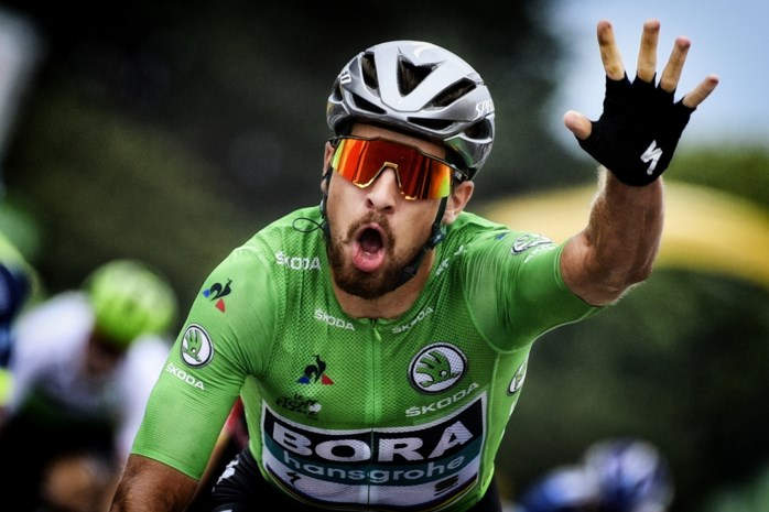 Peter Sagan redt de Tour: in zijn eentje de best scorende ploeg