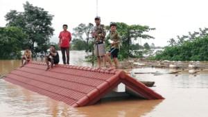 Honderden doden bij dambreuk in Laos