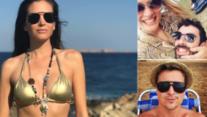 Gluren bij BV's: Astrid Coppens gaat prinses Leia achterna in gouden bikini