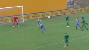 VIDEO. THES-speler scoort met heerlijke omhaal tegen Lommel SK