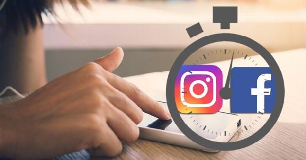 Facebook en Instagram lanceren timer die toont hoelang je al aan het scrollen bent