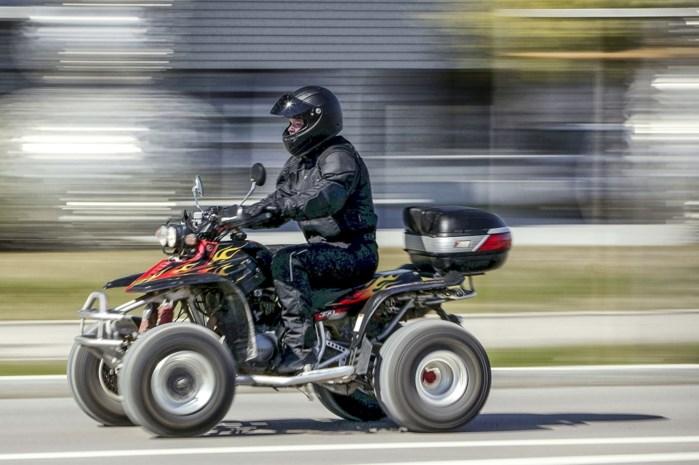 Politiezone CARMA gaat quads extra controleren na verschillende meldingen afgelopen weken