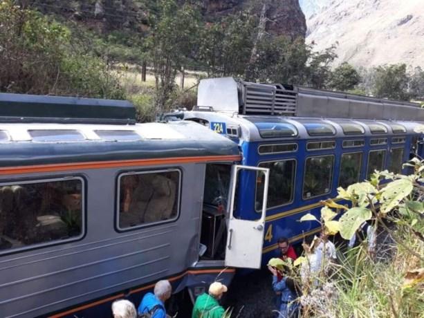 Minstens 35 gewonden bij treinbotsing nabij Machu Picchu