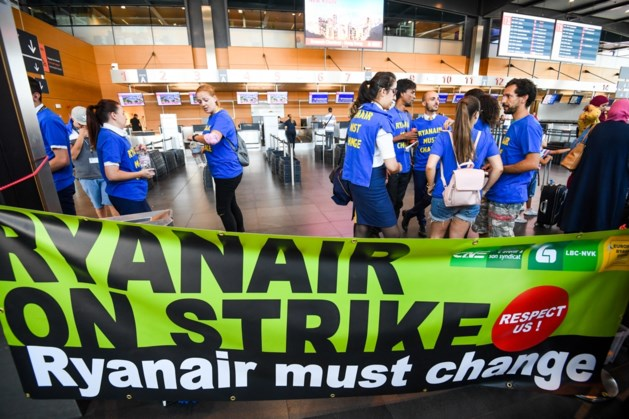 Piloten van Ryanair gaan staken op 10 augustus