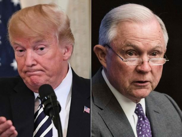 Trump vraagt minister van Justitie om einde te maken aan onderzoek Russische inmenging