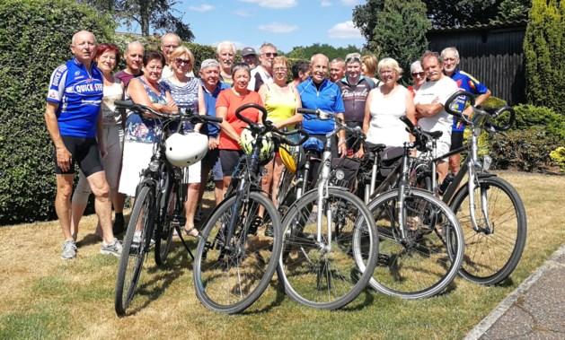 KWB sluit fietsproject af met rit van 100km