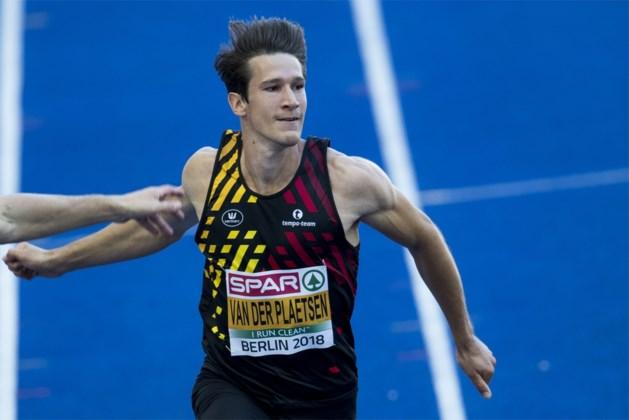 EK ATLETIEK. Van der Plaetsen start tienkamp matig door blessure, broers Borlée dominant in reeksen 400 meter