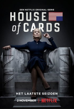 'House of Cards' komt toch met laatste seizoen, maar Kevin Spacey is nergens te bespeuren