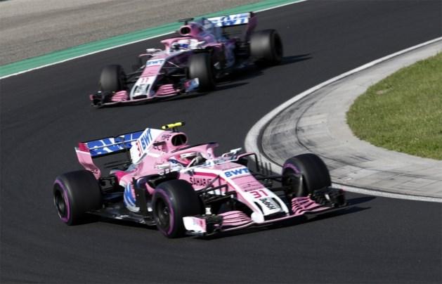 F1-team Force India gered door vader Stroll