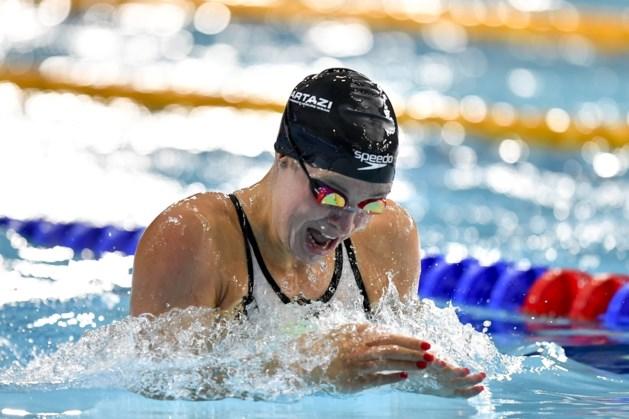 Fanny Lecluyse wordt zesde op 200m schoolslag op EK na diskwalificatie van Tutton