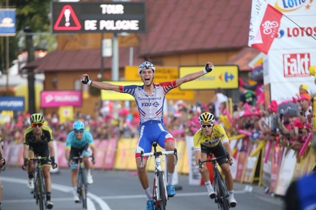 Belgen vallen aan, maar Preidler wint zesde etappe in Polen