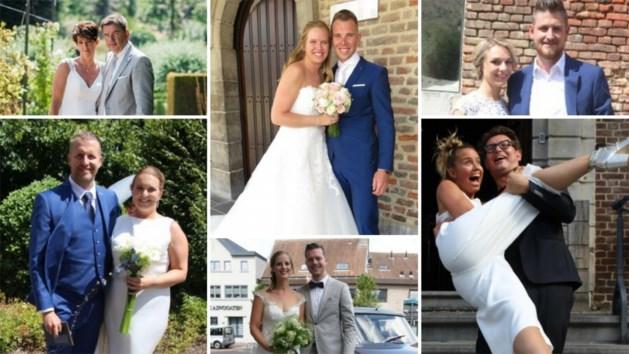 FOTO. Bekijk hier de huwelijksfoto's uit onze Goednieuwskrant
