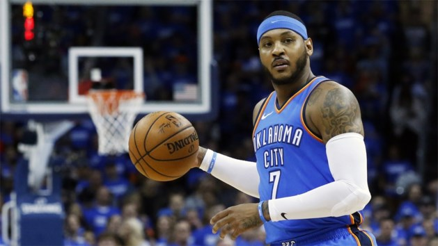 Toptransfer in de NBA: Carmelo Anthony tekent bij Houston Rockets