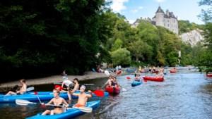 Kajakken op verschillende plaatsen in Wallonië opnieuw mogelijk vanaf woensdag