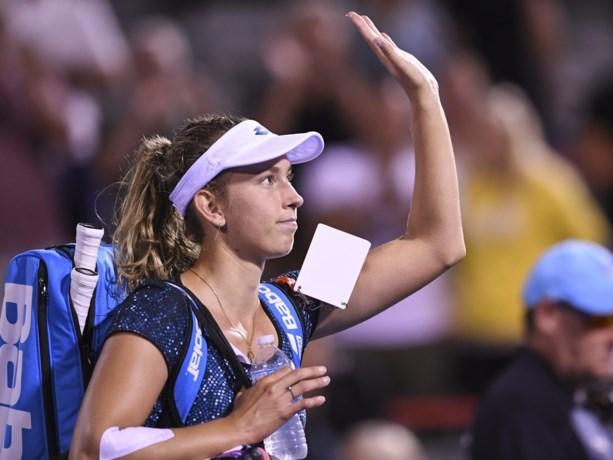 Elise Mertens naar tweede ronde